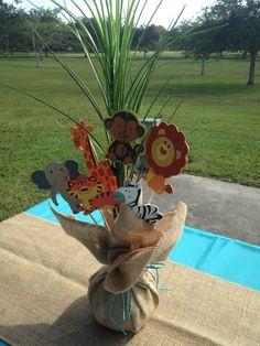 Baby Shower Boy Ideas Food Jungle Theme 15 Ideas Baby Shower Ideas for Boys Safari Theme Birthday, Jungle Theme Parties, Safari Birthday Party, Wild One Birthday Party, Baby Birthday, Birthday Parties, Idee Baby Shower, Shower Bebe, Boy Baby Shower Themes