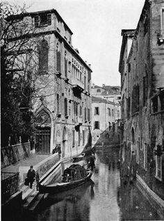 First Time User — Van Axel Canal, Venice, 1900s