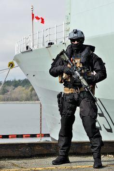 A Maritime Tactical Operator of a Canadian Navy ENBP