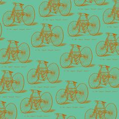 Free 12 x 12 vintage bicycle printable I designed for scrapbooking and paper crafting.