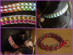 blog de manualidades con objetos reciclables y accesorios varios Perros Bull Terrier, Boston Bull Terrier, Can Tab Crafts, Fun Crafts, Pop Tabs, Dogs For Sale, Smiling Dogs, Cat Supplies, Diy Fashion