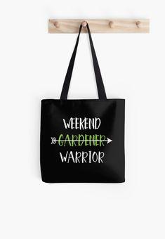 """WEEKEND GARDENER WARRIOR | Awesome Gardener T-shirt"" T-shirt by BusyBeeGarden | Redbubble"