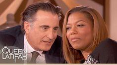 Andy Garcia Teaches Queen Latifah How to Flirt in Spanish   The Queen La...