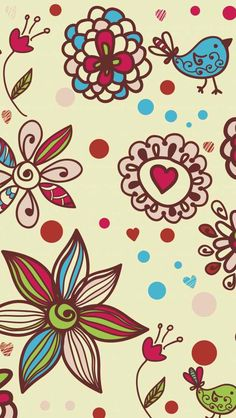 Paisely - Doodle iPhone wallpapers @mobile9 | #background #pattern #artistic