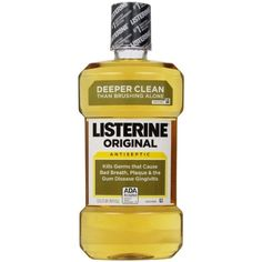 Listerine Antiseptic Mouthwash, Original 1000 mL (Pack of 6)