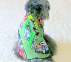 Fleece Small Dog's Clothing Made to Order  by BloomingtailsDogDuds, $21.95
