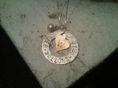 Treasured Trinkets Hand Stamped Jewelry on FB $36