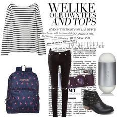 El look del día está inspirado en el estilo grunge.  1.- Perfume 212 Carolina Herrera http://fashion.linio.com.mx/a/212ch
