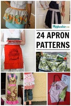 24 Free Apron Patterns. Free & Easy…Yes Please!