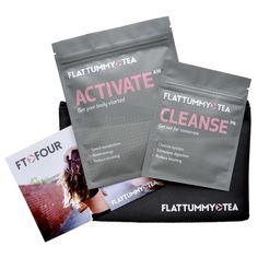 2 step easy tea detox to reduce bloating and get a flat tummy! by flattummytea | Flat Tummy Tea