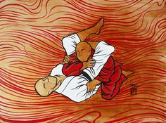 BJJ art. A lot of cool drawings and paintings on this site.