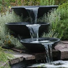 """Cascade 3 vasques """"Nova Scotia"""" par Ubbink chez Delamaison"""