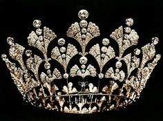Boucheron, the Queen Mother's diamond coronet, 1901.