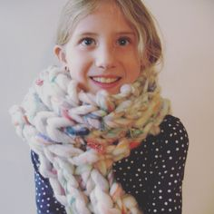 Rainbow Dream Roving Scarf by WoolandViolets on Etsy