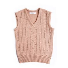 25 Off Women's Cable Knit Lambswool vest/waistcoat/sweater vest/tank... ($65) ❤ liked on Polyvore featuring tops, sweaters, silver, sweater vests, women's clothing, embellished tops, v neck sweater vest, sleeveless tops, pink vest and woven top
