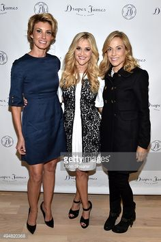 Faith Hill, Reese Witherspoon, and Sheryl Crow attend the Draper James Nashville store opening on October 28, 2015 in Nashville, Tennessee.