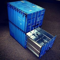 Shipping Container File Cabinet Vinyl Wrap #Cabinet, #Vinyl, #Wrap
