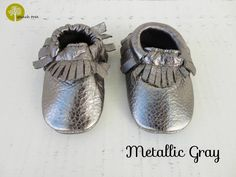 Baby Leather Moccasins | 34 Colors | Jane
