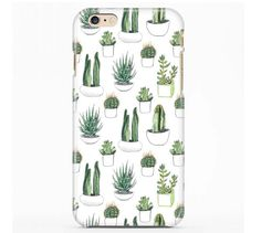 Watercolour Cacti and Succulent Case Cover for iphone 4 4s 5 5s 5c 6 6s plus,Samsung Galaxy S3 S4 S5 S6 Phone case
