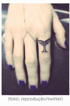 Mini-tatuagem Crédito: Mundo das tatuagens