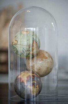 globe x 3