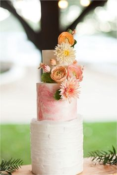 Orange and Pink Spring Wedding Ideas by All In The Detail Design