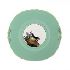 VULTURE IN CROWN CAKE PLATE £48