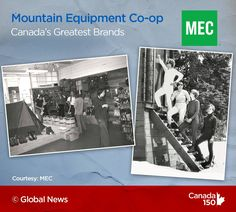 MEC is a Great Canadian Brand in our books. Canada 150, Global News, All About Time, Books, Libros, Book, Book Illustrations, Libri