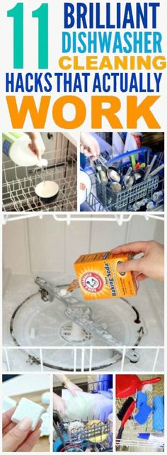 '11 Dishwasher Hacks That'll Make Your Life Easier...!' (via Chasing Foxes)