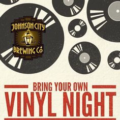 Come in out of the heat and bring your vinyl records with you! We've got 12 original brews on tap (including Strawberry Wheat & American Rye Pale!) and the vintage tunes will be flowing. Open 5pm-10pm!
