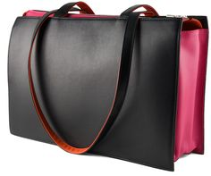 Gorgeous Office Bag by Hester van Eeghen - color blocking wow on all sides