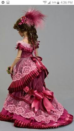 victorian era ball gowns for sale Victorian Ball Gowns, Victorian Costume, Victorian Dolls, Victorian Era, Victorian Dresses, Barbie Gowns, Barbie Dress, Barbie Clothes, Barbie Doll