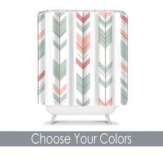 Monogram Shower Curtain Custom Personalized TRM Design 41