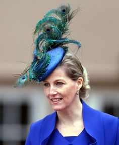 The Countess of Wessex    The Royal Hats Blog Easter 2013    Please do not go the way of the York girls with these extreme hats.