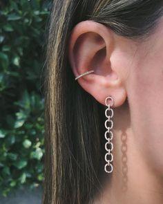 Diamond Ear Cuff (No Piercing) | EF Collection