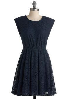 Neighborly in Navy Dress from ModCloth