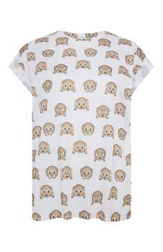 Primark - Emoji Monkey T-Shirt