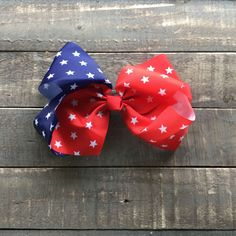 """America Boutique Grosgrain 7"""" Bow Clip 