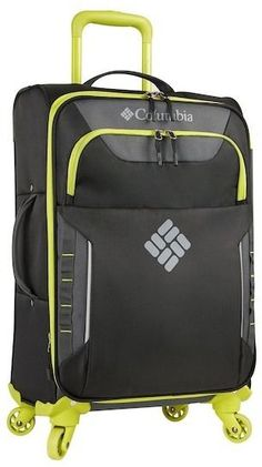 """Columbia Crown Point 31\\"""" Expandable Spinner Suitcase"""
