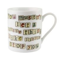 "Matilda Mug ""Even if you're little you can do a lot"""