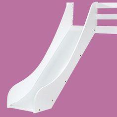 Hoppekids Rutsche für Hochbett Kinderhochbett halbhoch weiß Größe 160 und 200 cm | eBay