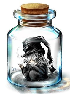 Undertaker in a jar