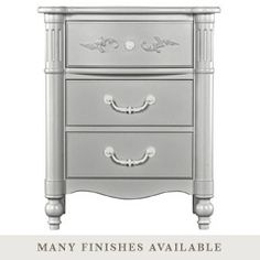 Stanley Young America Isabella Half Round Nightstand