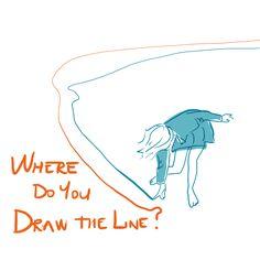 Draw the line - by Livia Prudilova - Anglicky efektívne