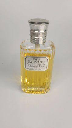 Mens Sauvage  Eau De Toilette Christian Dior Vintage 3.4 Made in France #ChristianDior