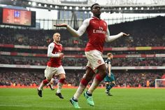 Arsenal Raih Poin Penuh Danny Welbeck Gembira