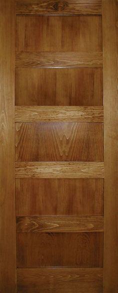 A Zen Designed 5 panel Shaker door in Clear Pine Home Depot, Zen Design, Shaker Doors, Hacienda Style, Door Kits, Reno, Timeless Elegance, New Homes, Woodworking