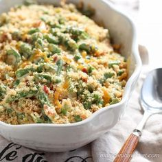 Supreme Green Bean Casserole: wholesome, low carb & gluten-free | lowcarbmaven.com