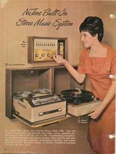 Built-In Stereo Music System - 1966.