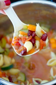 Instant Pot Minestrone Soup  - Delish.com